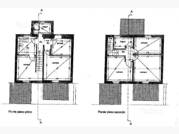 Planimetria 2/2 per rif. trc psp 230n