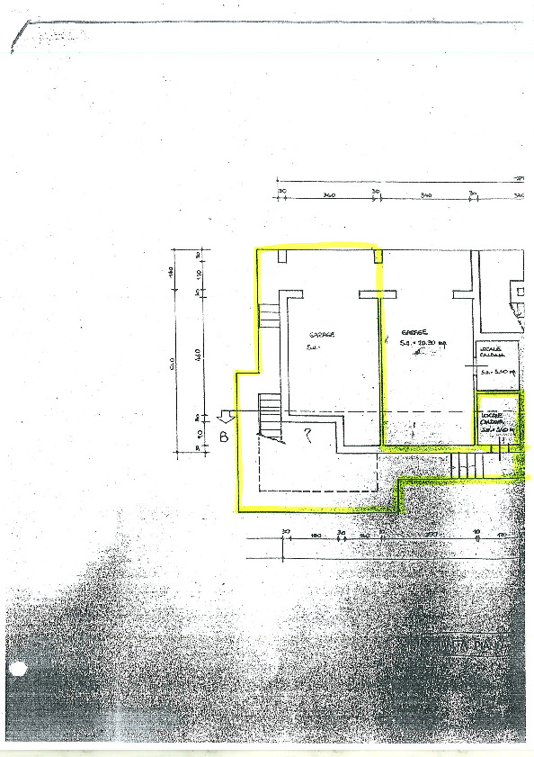 Planimetria 1/1 per rif. ap altop 135