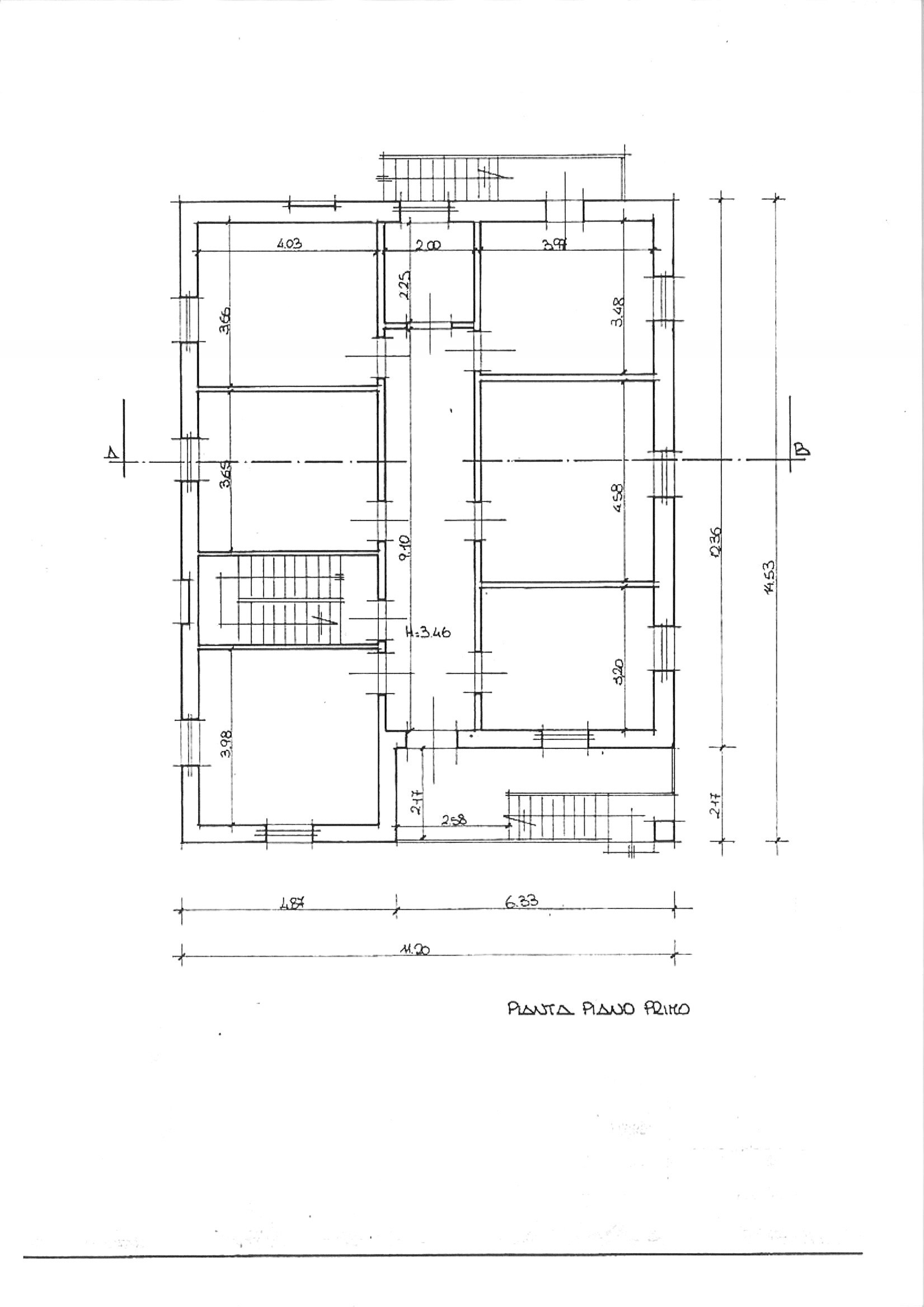 Planimetria 2/2 per rif. vill ssann 320