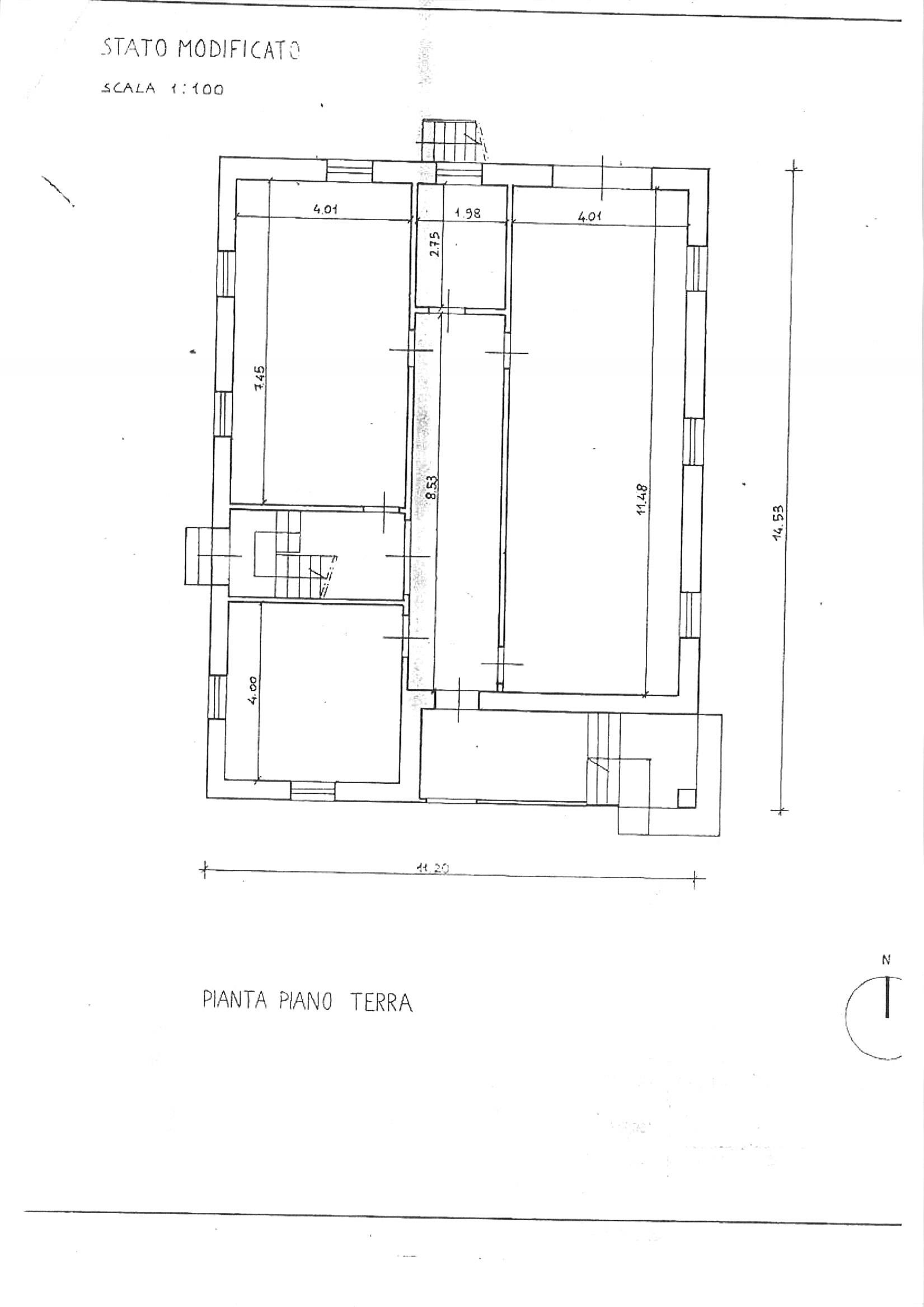 Planimetria 1/2 per rif. vill ssann 320