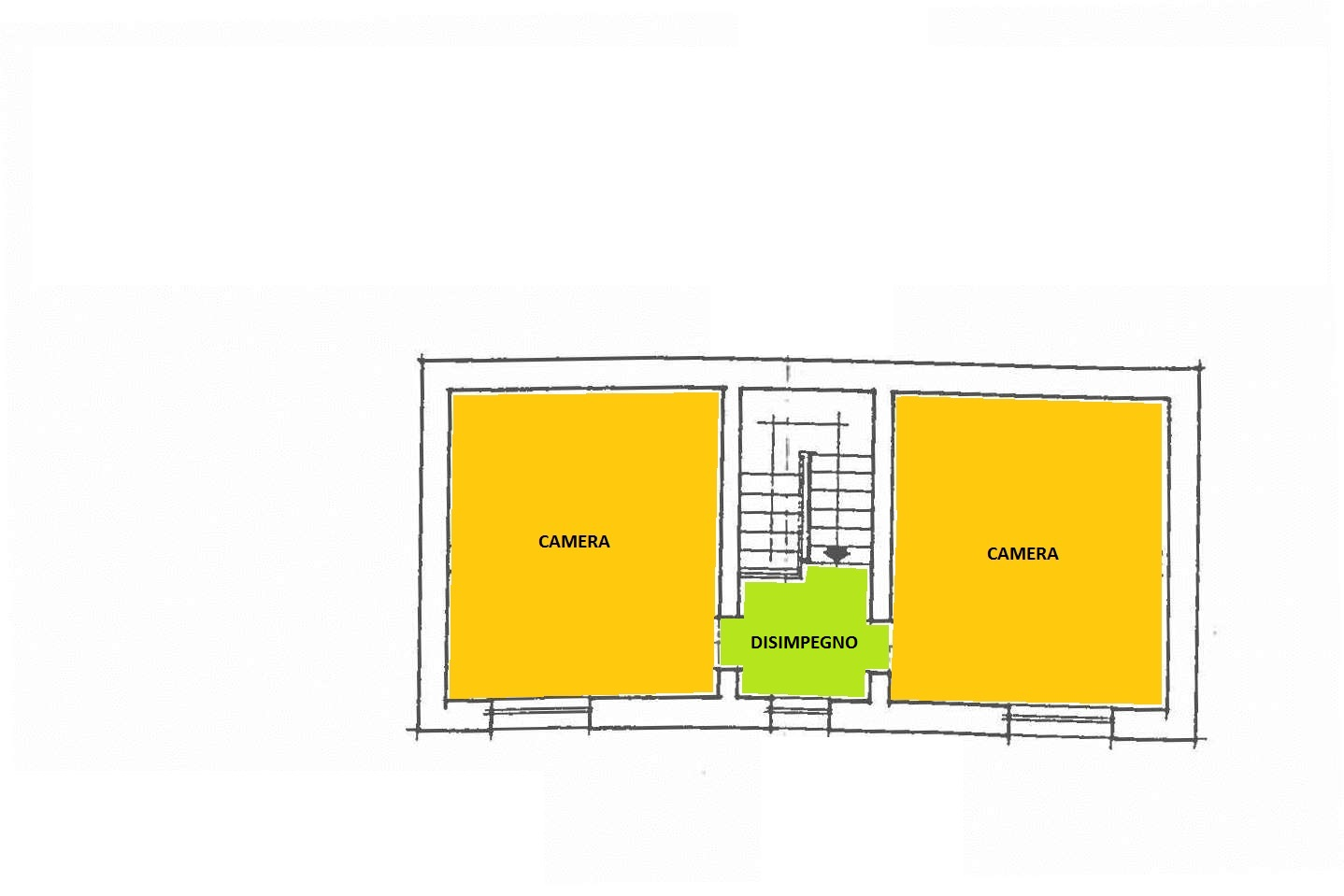 Planimetria 3/3 per rif. cind colle 250