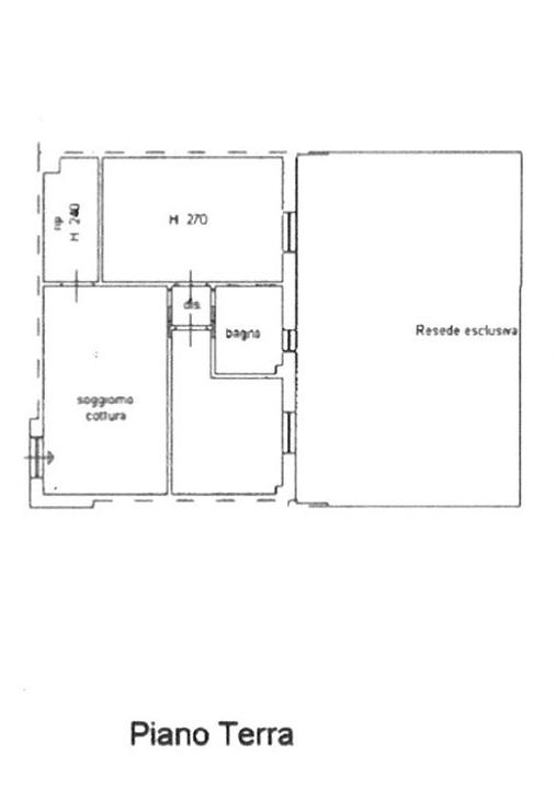 Planimetria 1/1 per rif. ap mugn 125