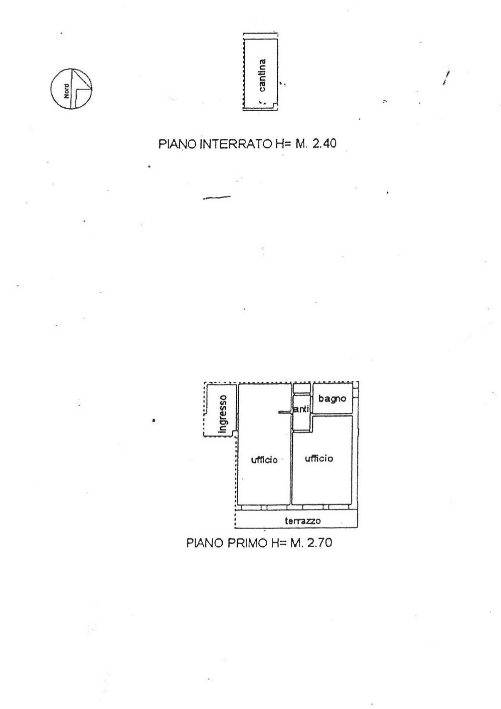 Planimetria 1/1 per rif. uff aran 110