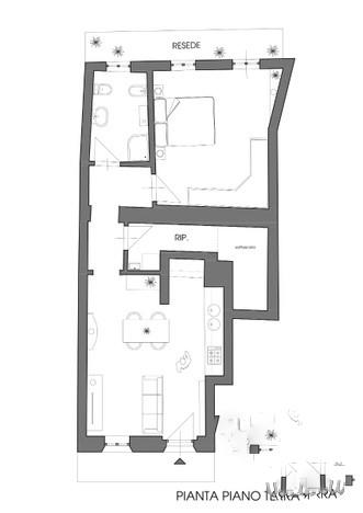 Planimetria 1/1 per rif. ap sdona 110