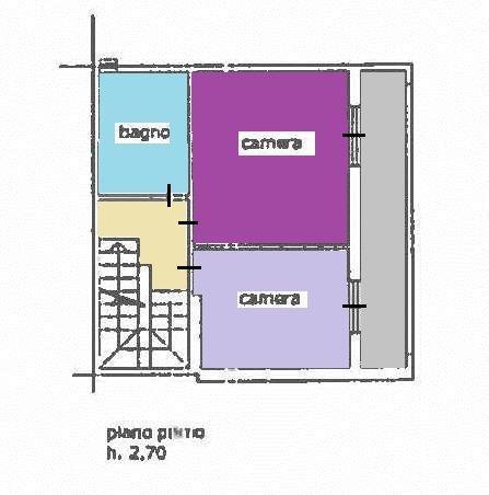 Planimetria 1/3 per rif. vsc scass 218