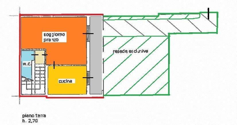 Planimetria 3/3 per rif. vsc scass 218