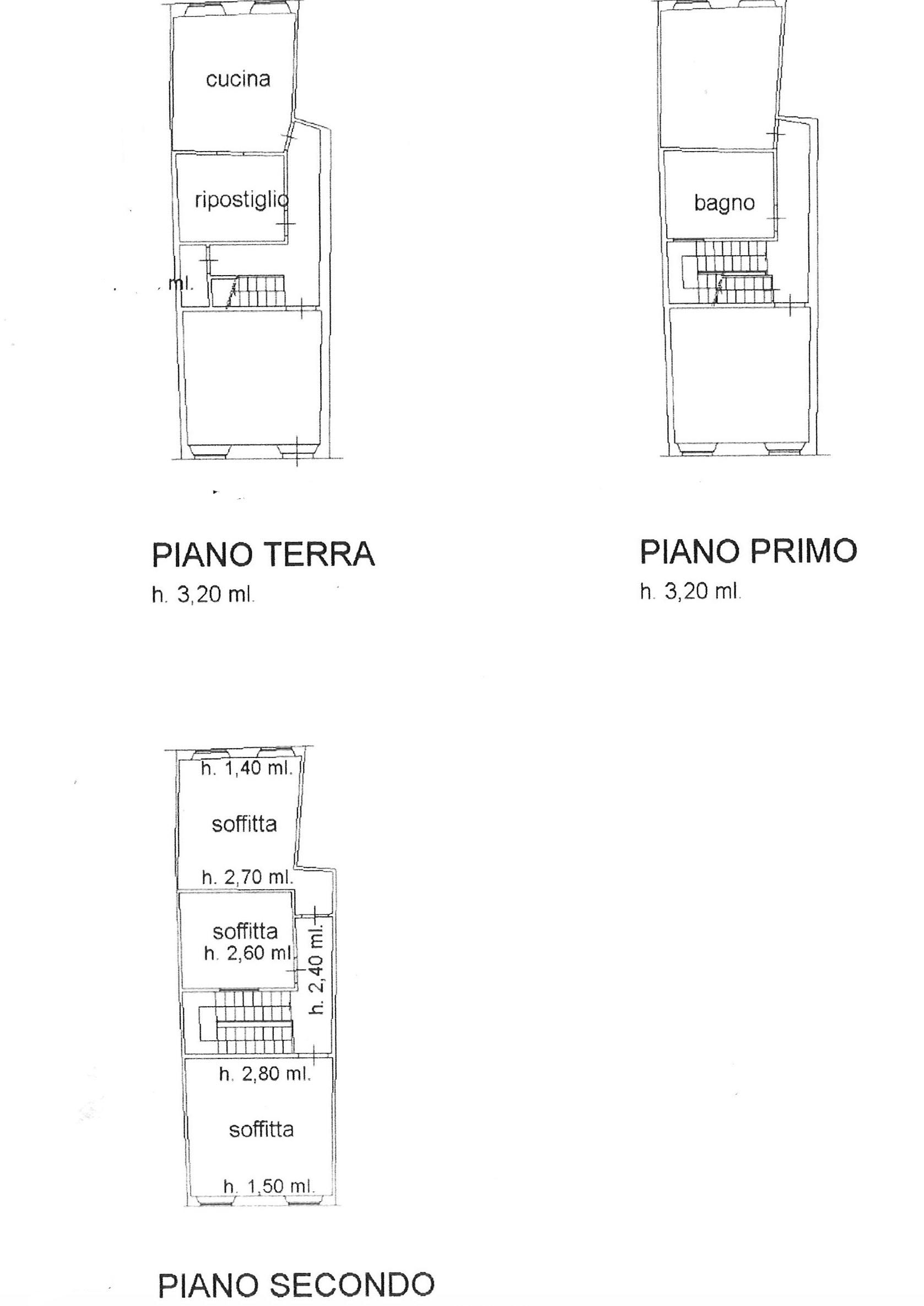 Planimetria 1/1 per rif. trc psp 220