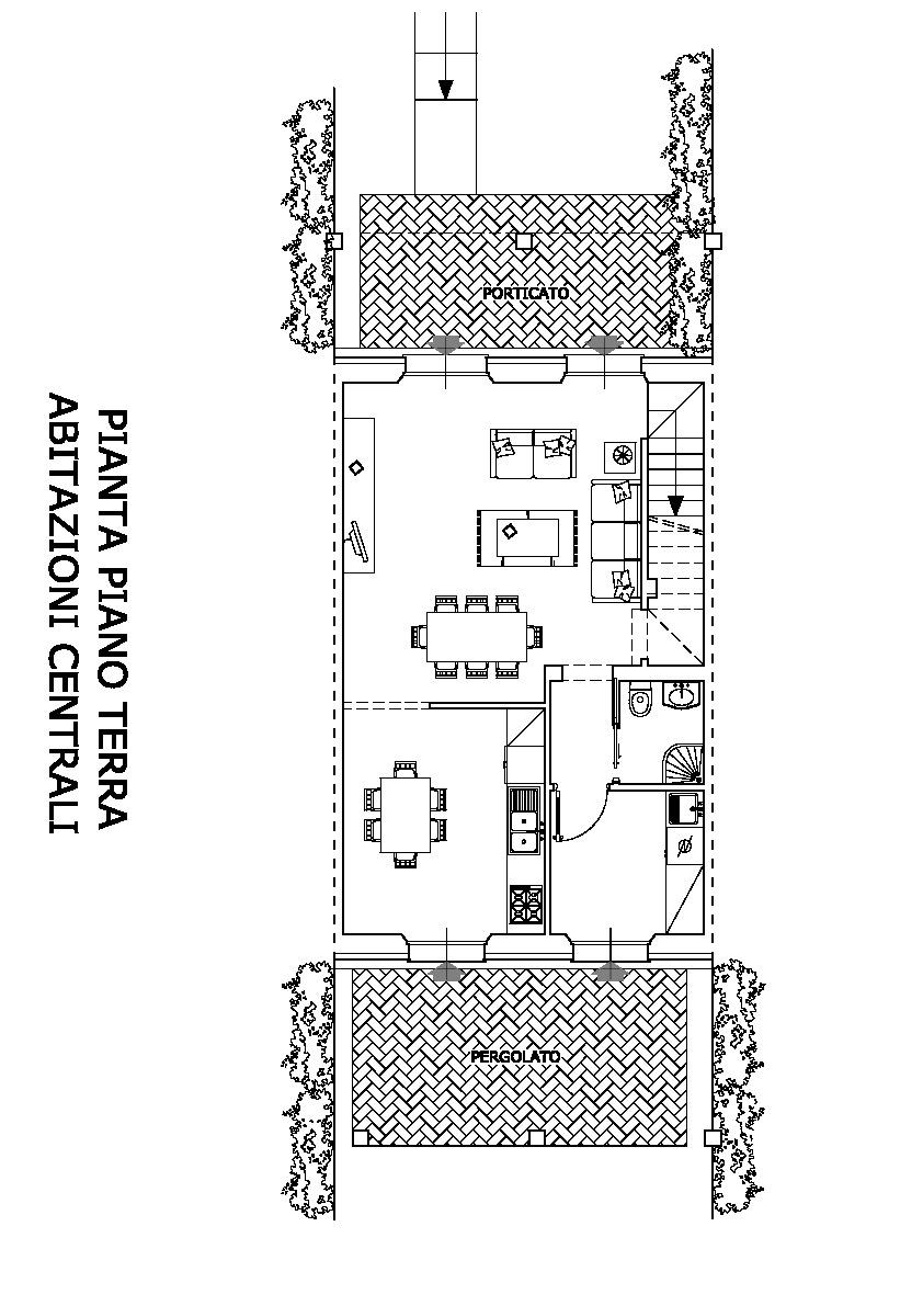 Planimetria 2/4 per rif. vsc verc 305