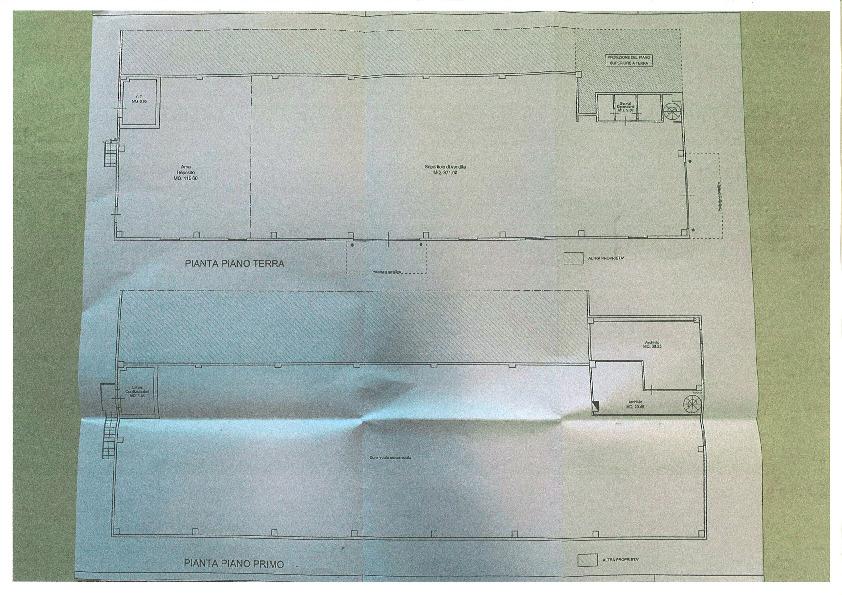 Planimetria 1/1 per rif. fond altop 5500