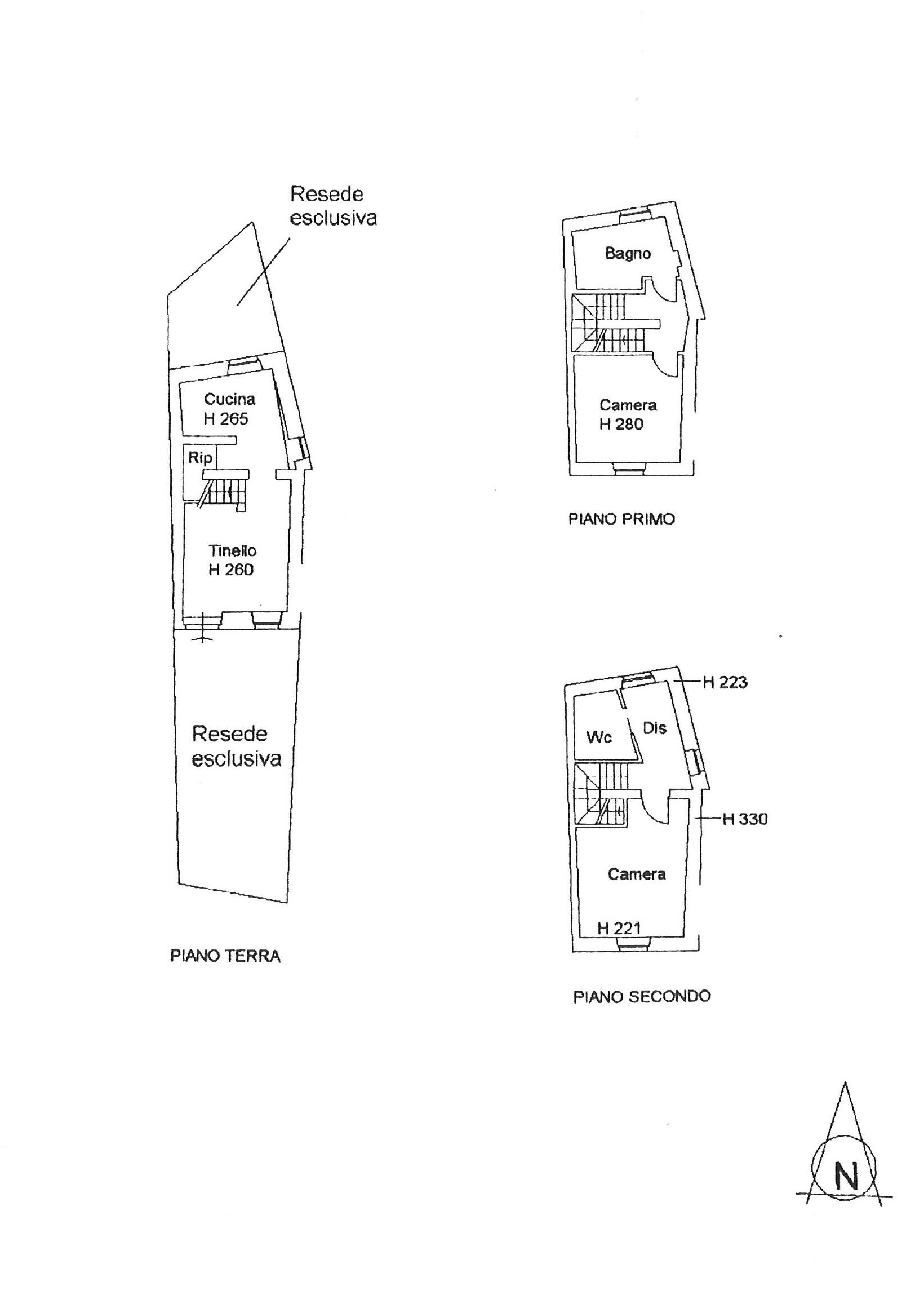 Planimetria 1/1 per rif. trc sgin 130