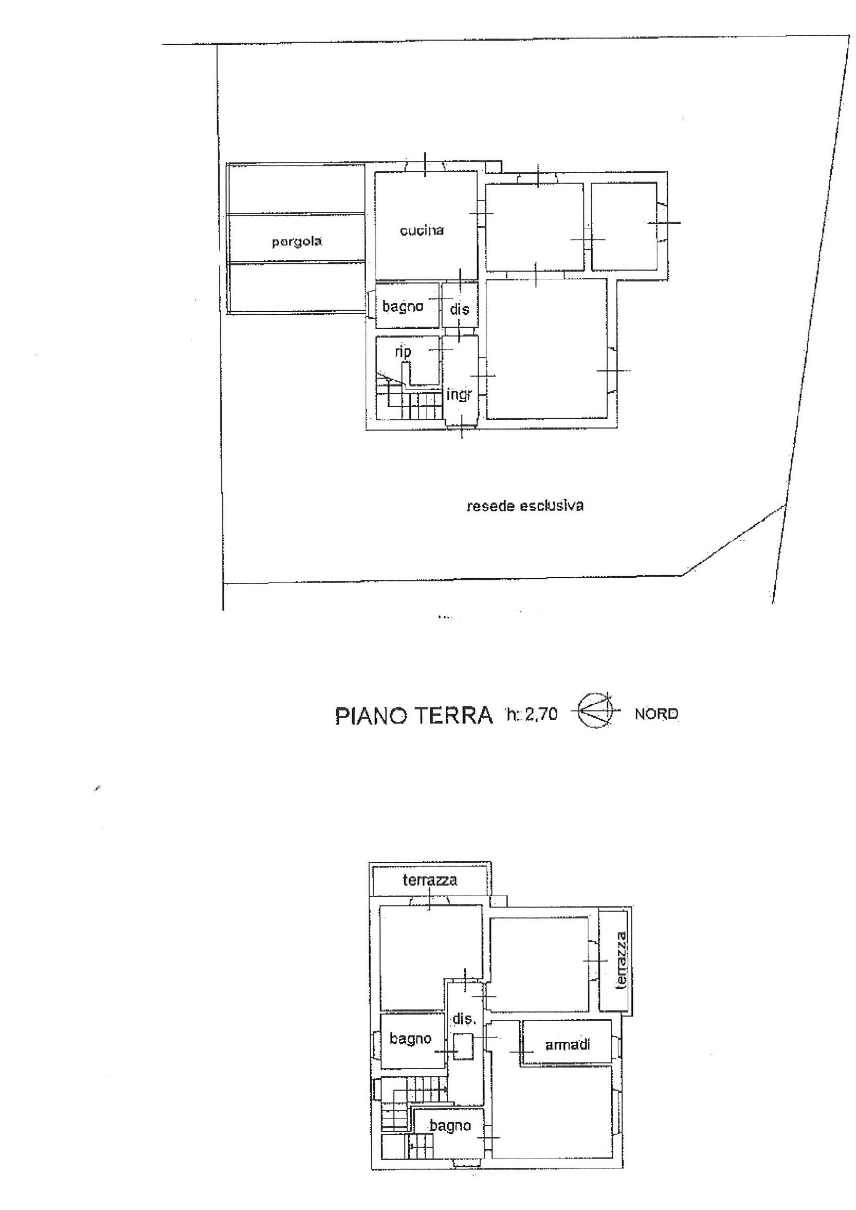 Planimetria 1/1 per rif. cind lamm 420