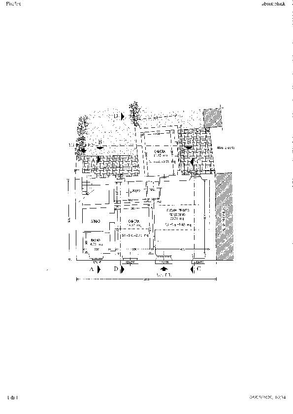 Planimetria 1/1 per rif. ap verc 180