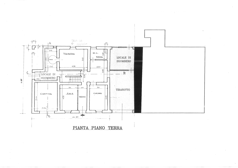 Planimetria 1/3 per rif. trf mmac 195