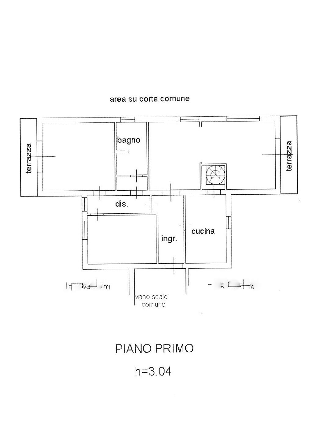 Planimetria 1/1 per rif. ap lun 139