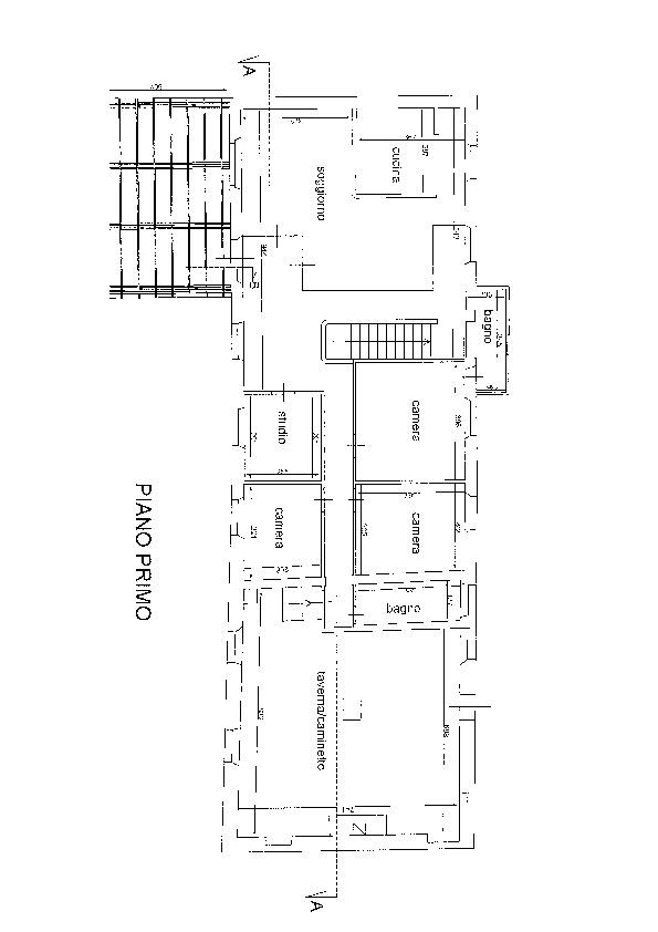 Planimetria 1/1 per rif. ap pmor 215