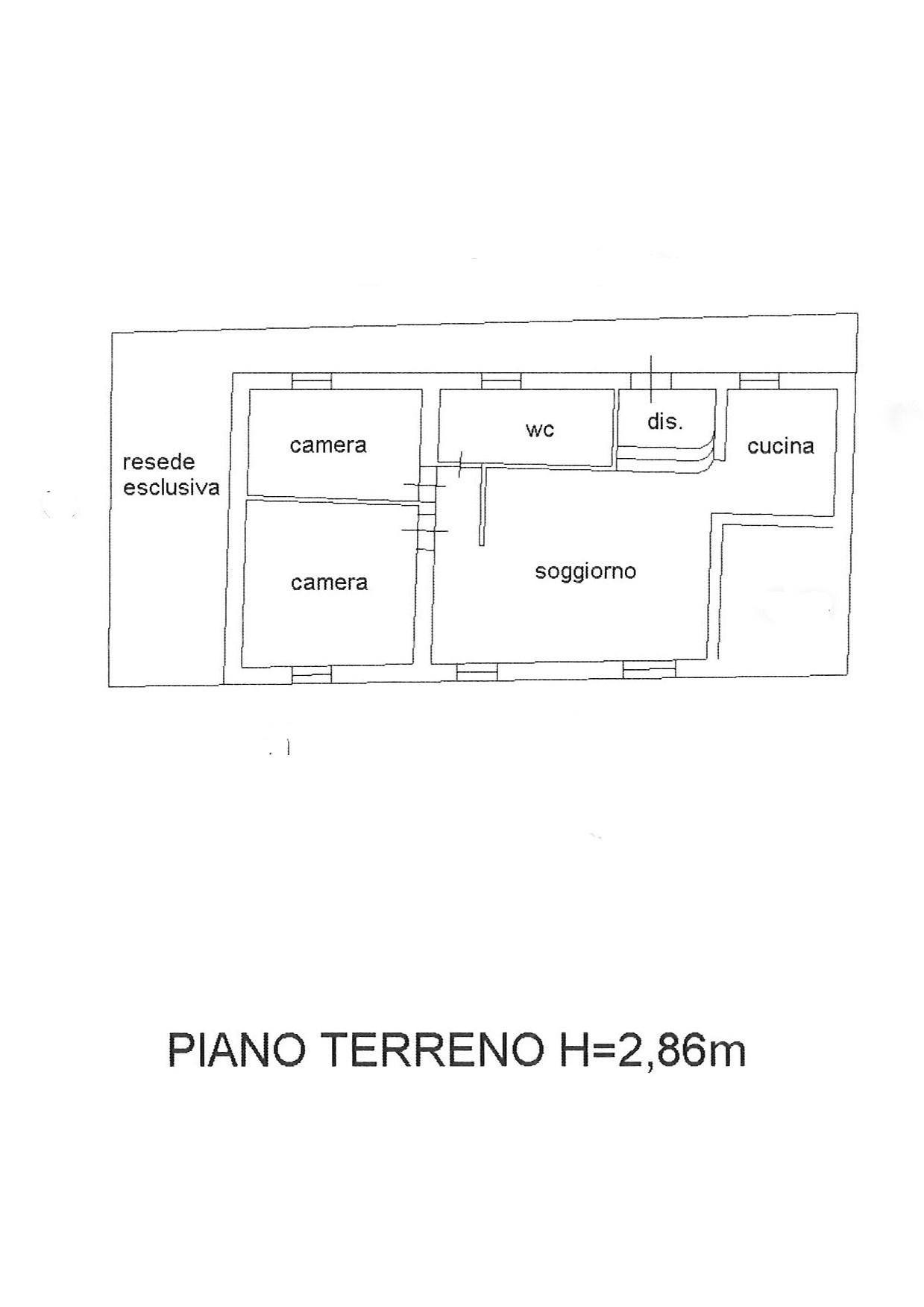 Planimetria 1/1 per rif. ap antr 130