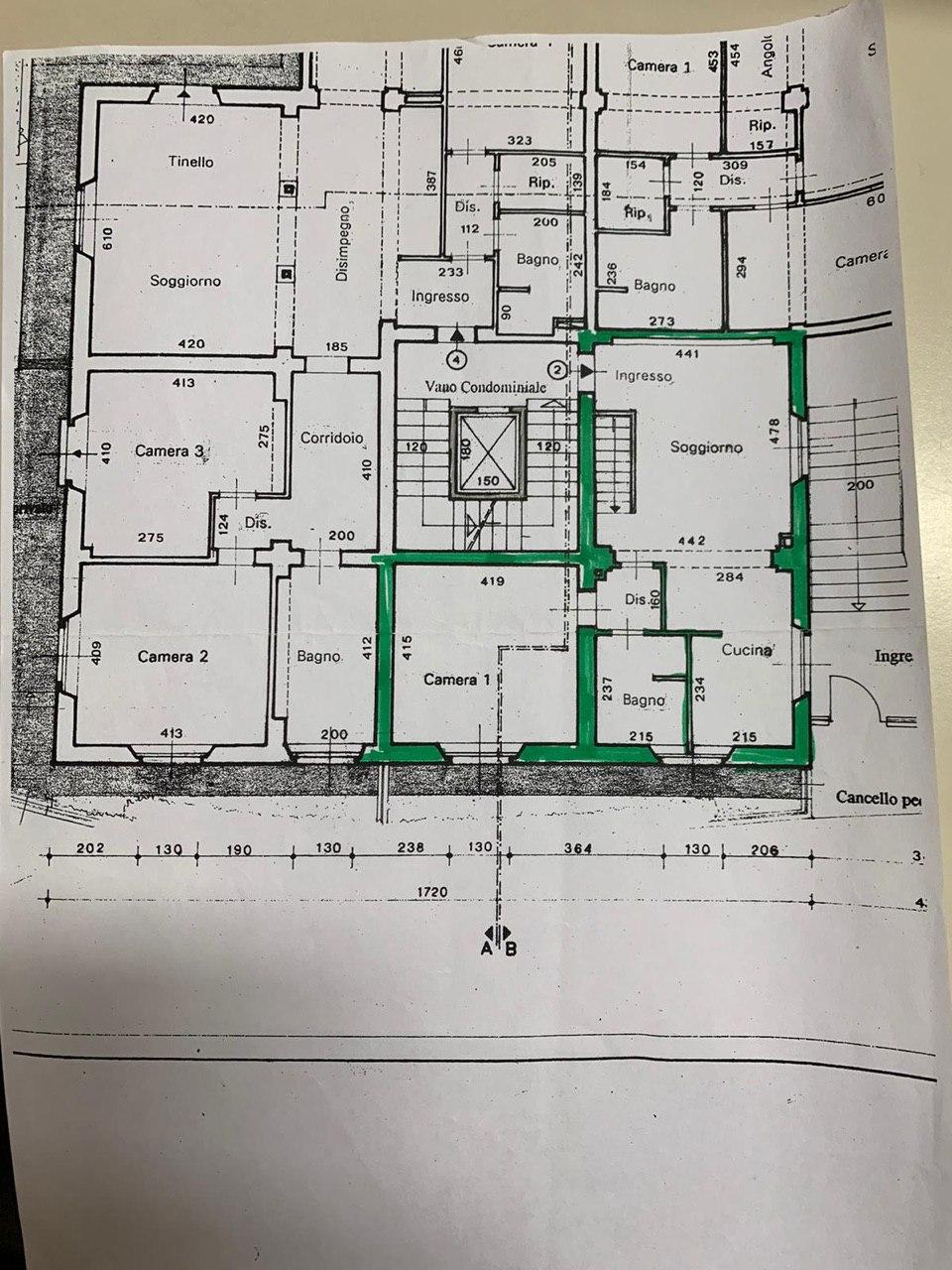 Planimetria 1/1 per rif. E008P
