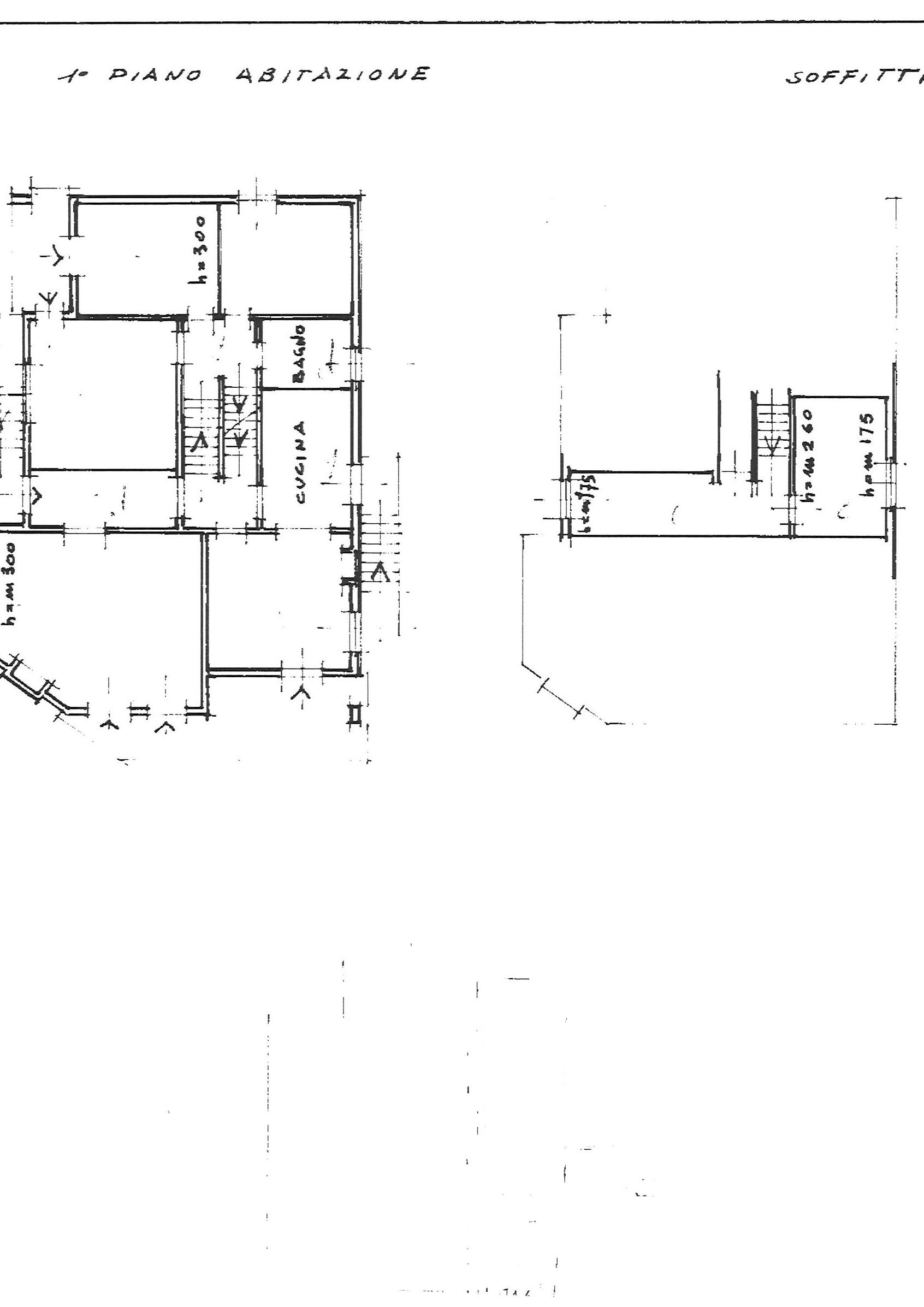 Planimetria 1/1 per rif. vill capa 430