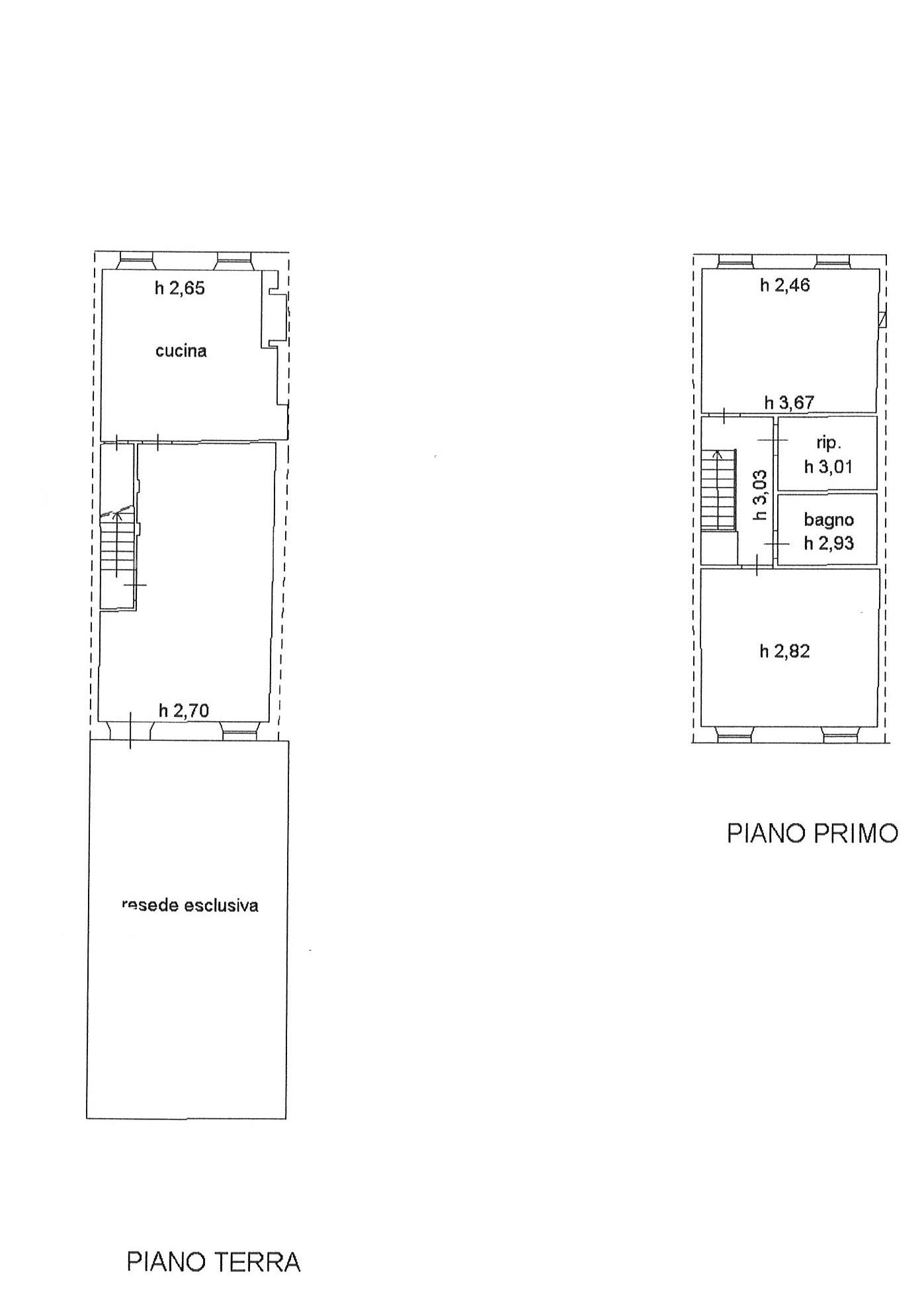 Planimetria 1/1 per rif. trc marl 140