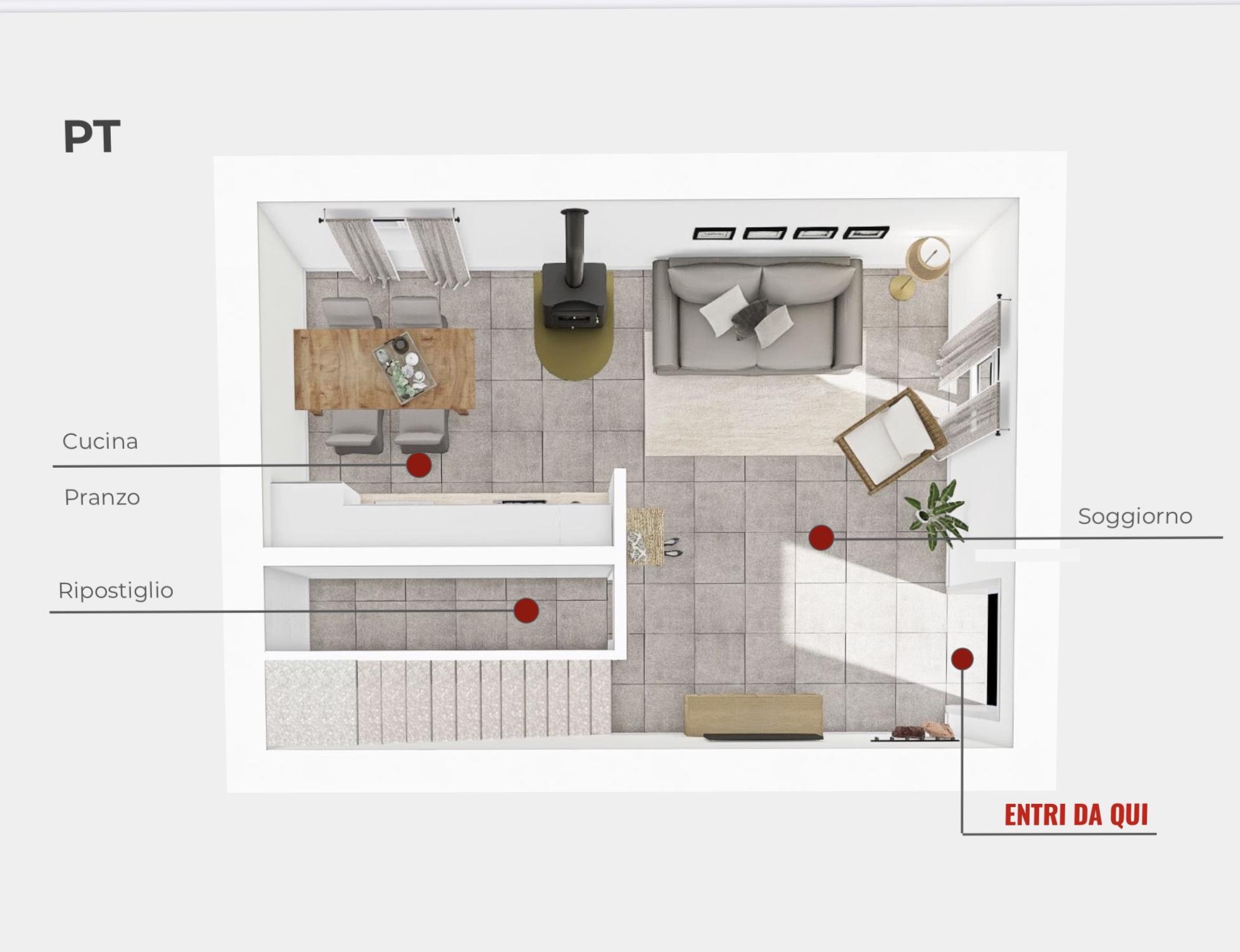 Planimetria 3/3 per rif. trf lun 175