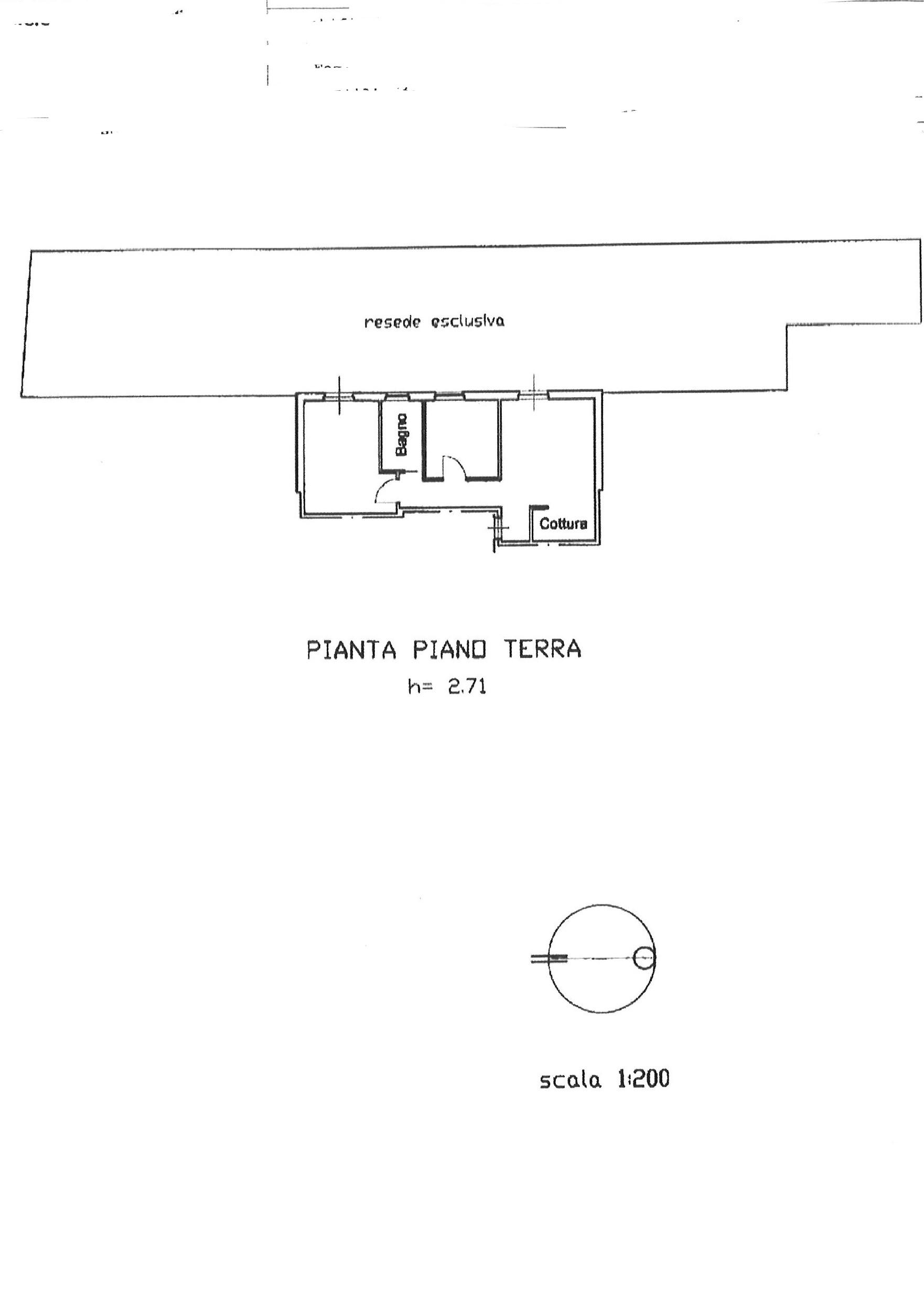Planimetria 1/1 per rif. ap aran 155