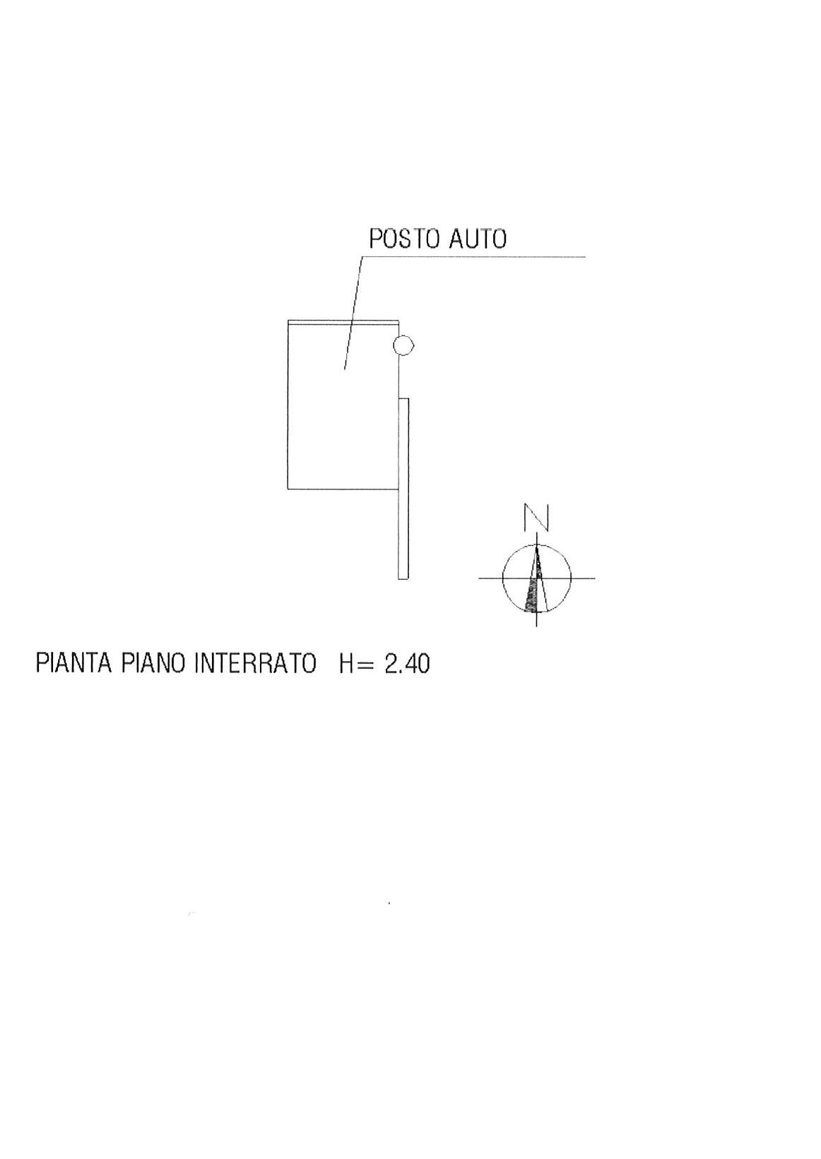 Planimetria 2/2 per rif. ap lucca 215