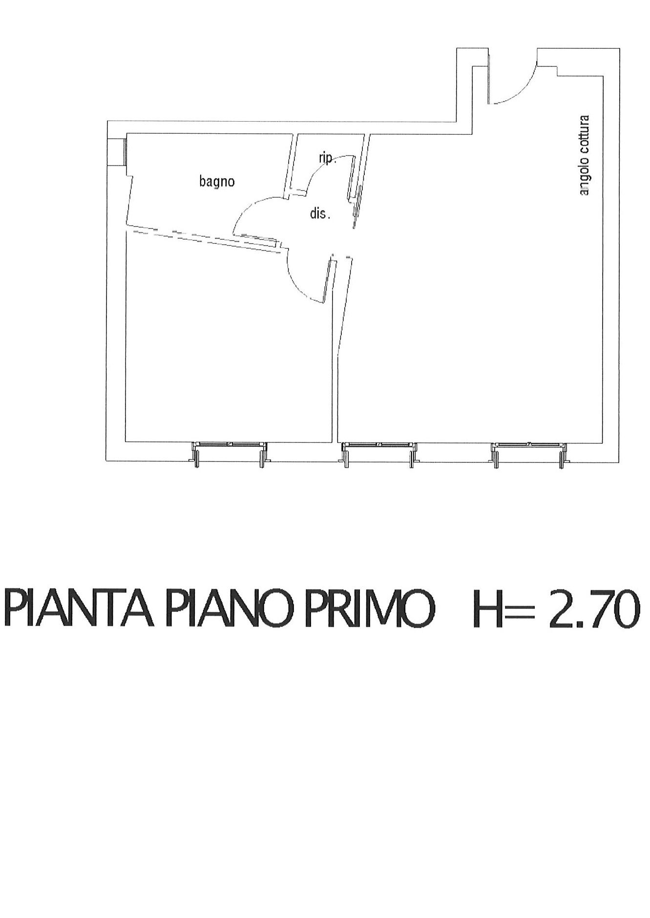 Planimetria 1/2 per rif. ap lucca 215