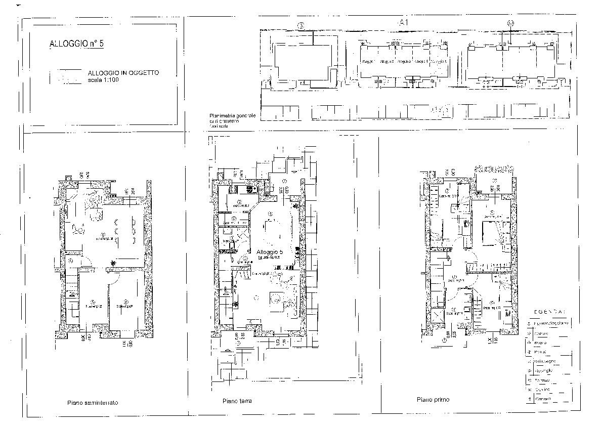 Planimetria 1/1 per rif. vsf aran 330
