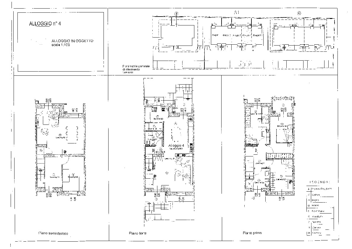 Planimetria 1/1 per rif. vsc aran 315