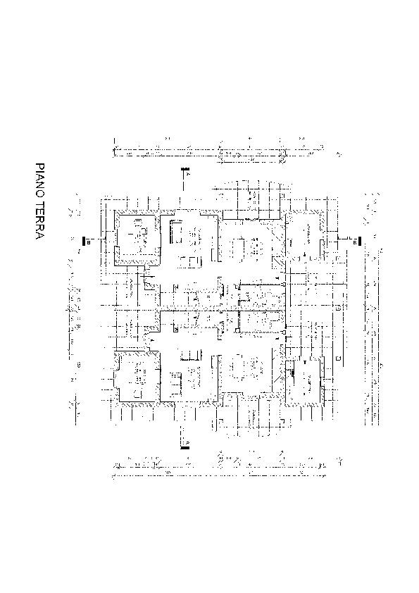 Planimetria 1/1 per rif. vbf mont 250