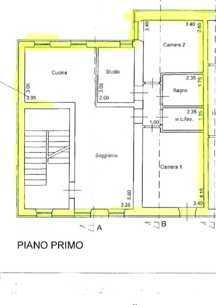 Planimetria 1/1 per rif. ap capa 160a