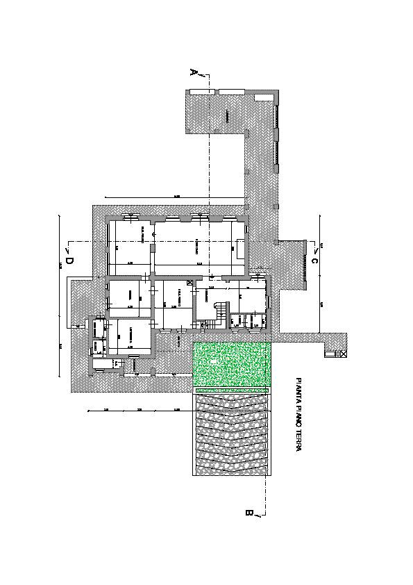 Planimetria 6/6 per rif. villa le pinete
