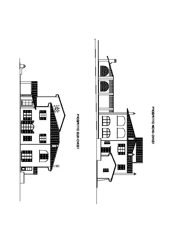 Planimetria 1/6 per rif. villa le pinete