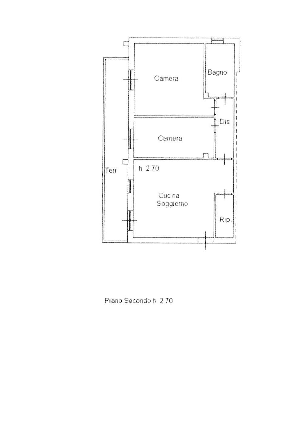 Planimetria 1/2 per rif. ap altop 119