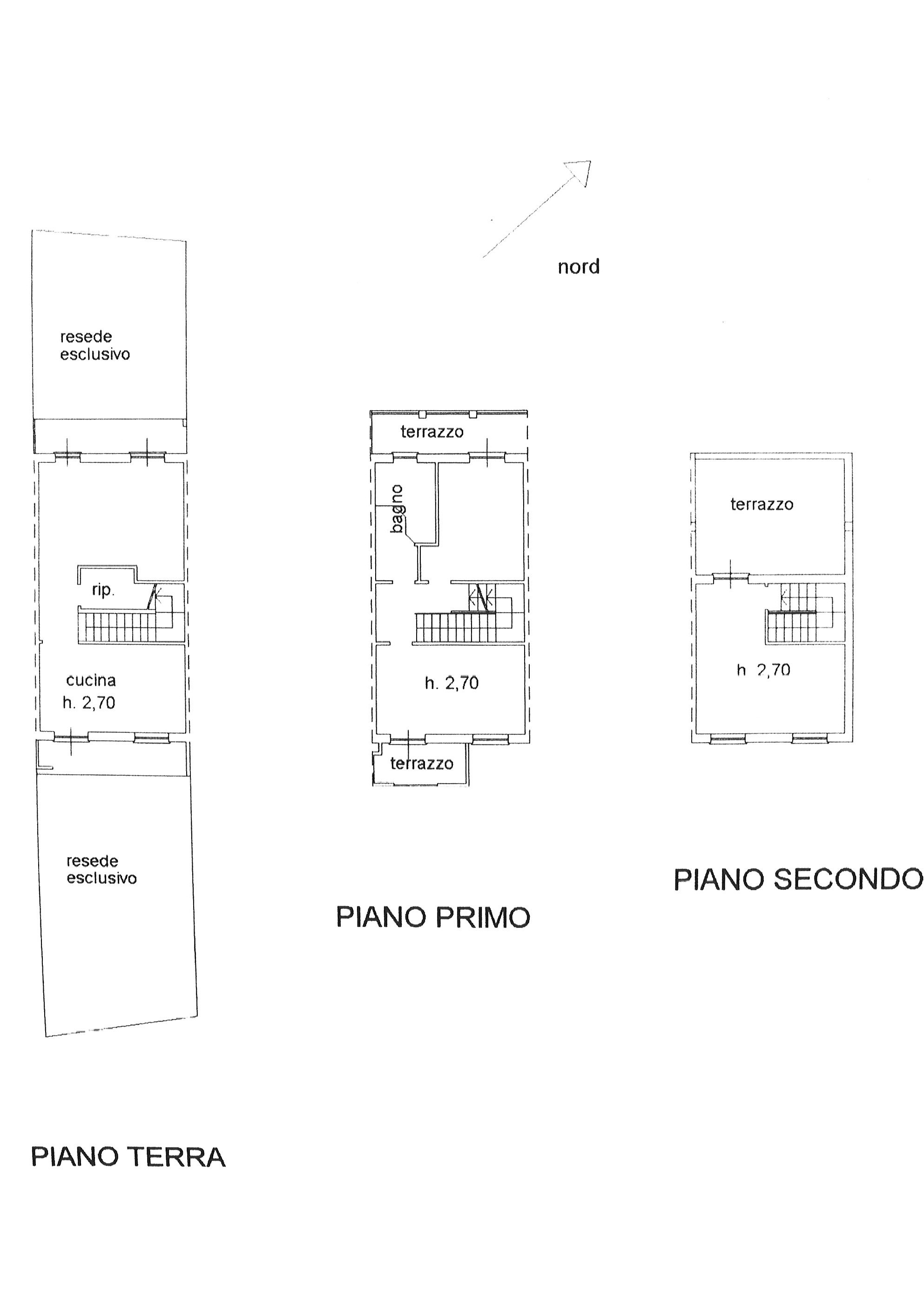 Planimetria 1/1 per rif. vsc altop 185