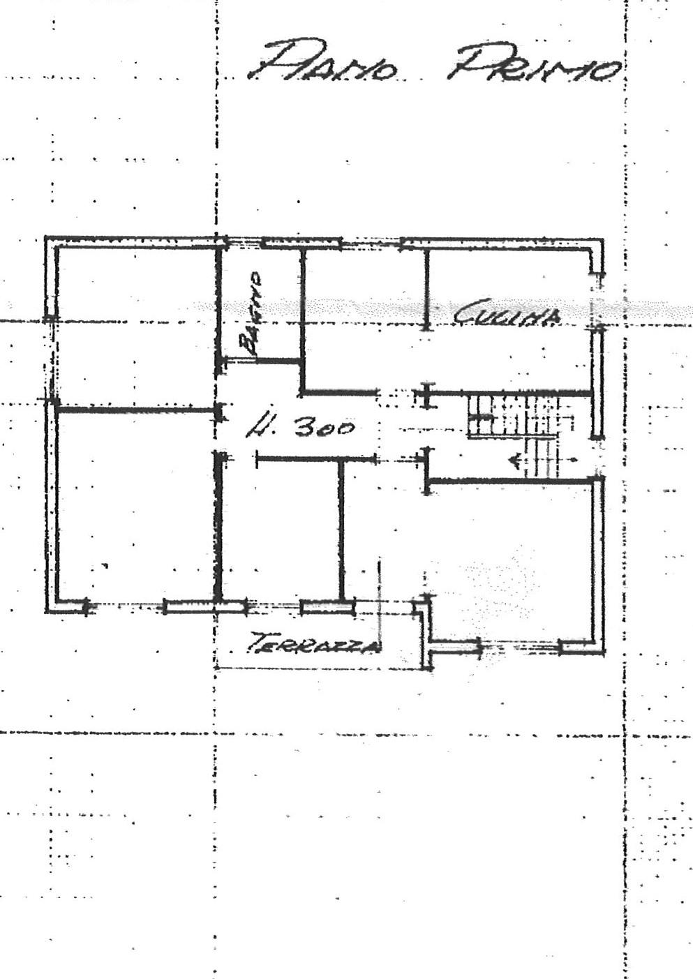 Planimetria 1/1 per rif. vbf escheto 180