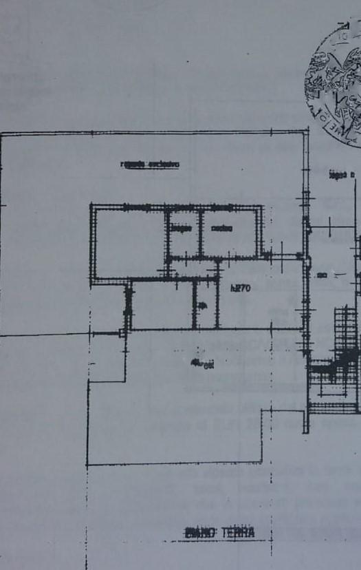 Planimetria 1/1 per rif. ap alto 115