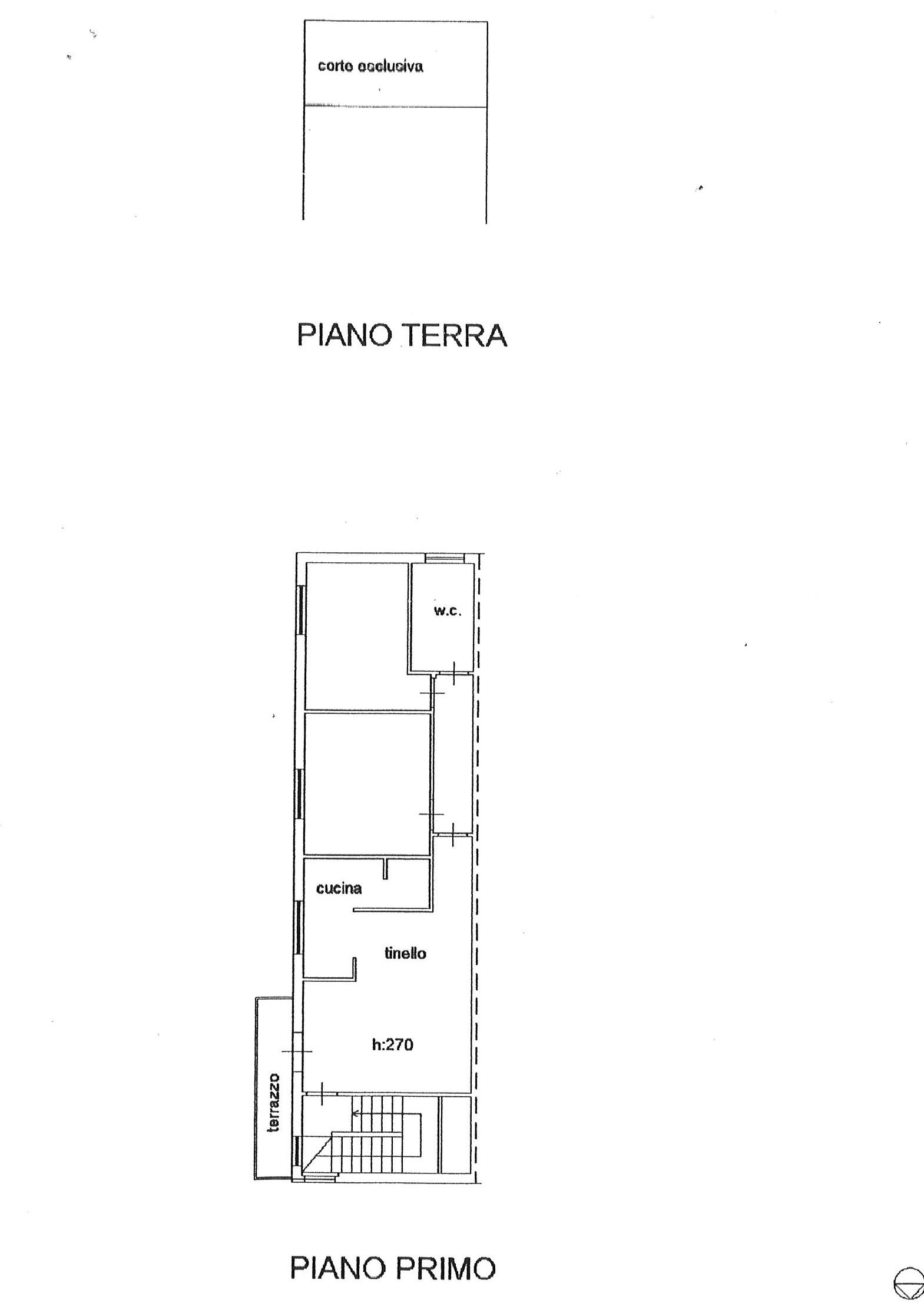 Planimetria 1/1 per rif. ap turc 110