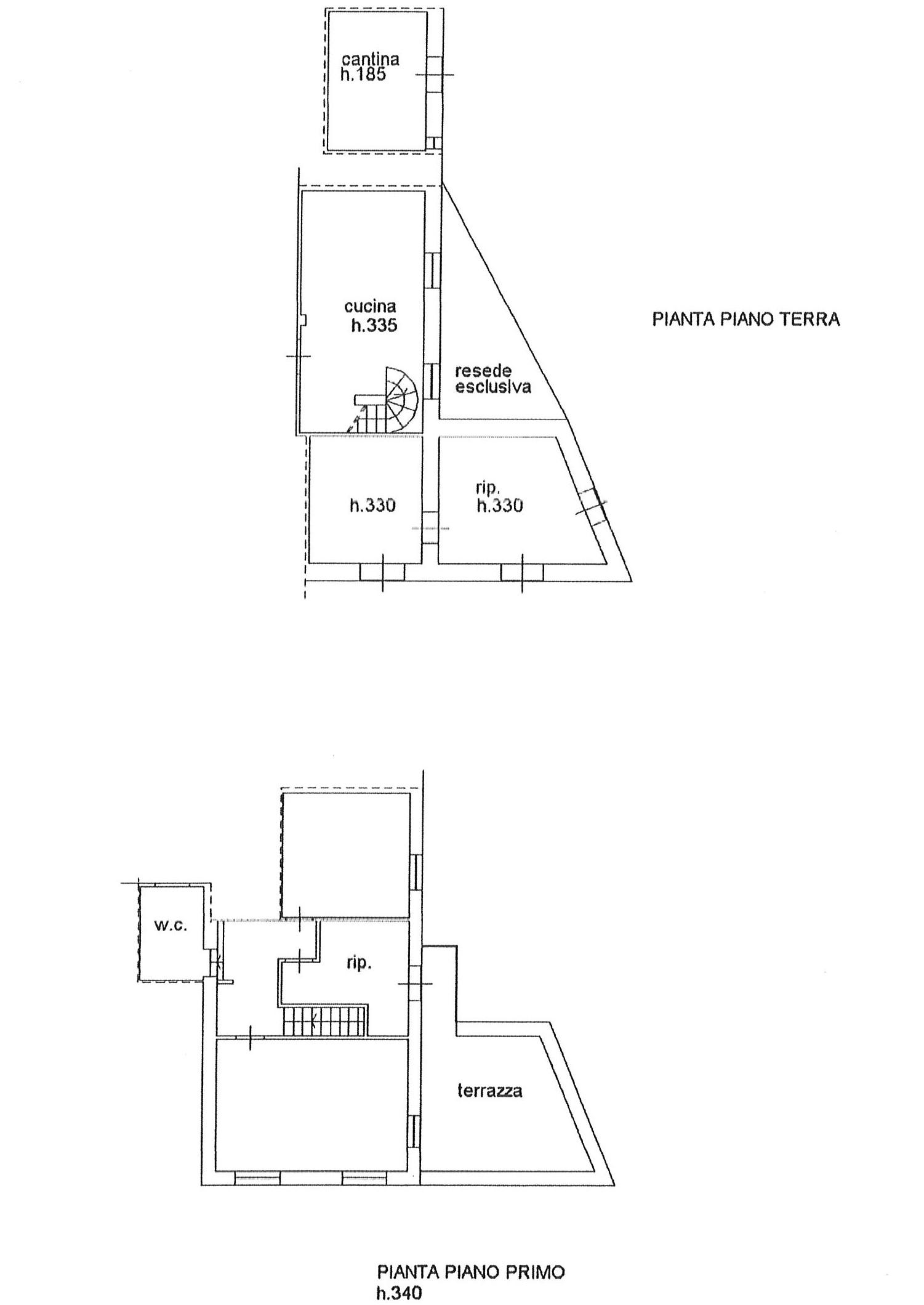 Planimetria 1/1 per rif. ap pmo 79