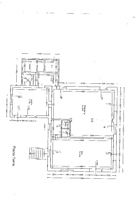 Planimetria 1/1 per rif. fond alto 1500