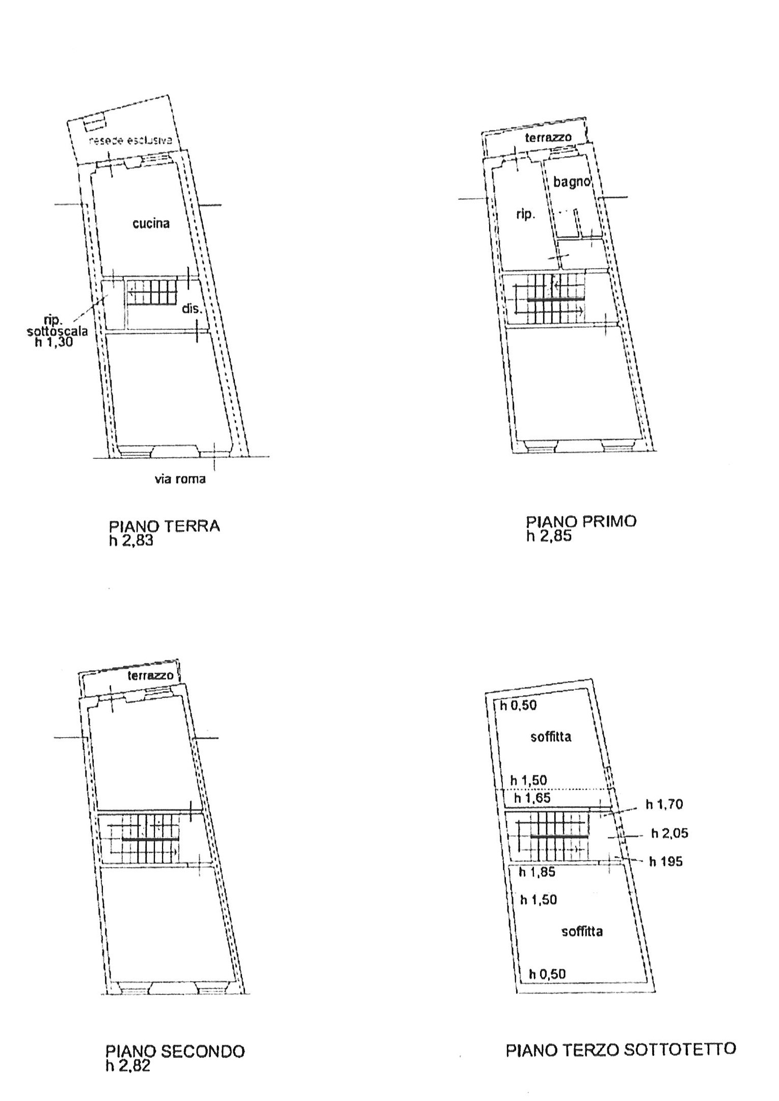 Planimetria 1/1 per rif. trc por 149