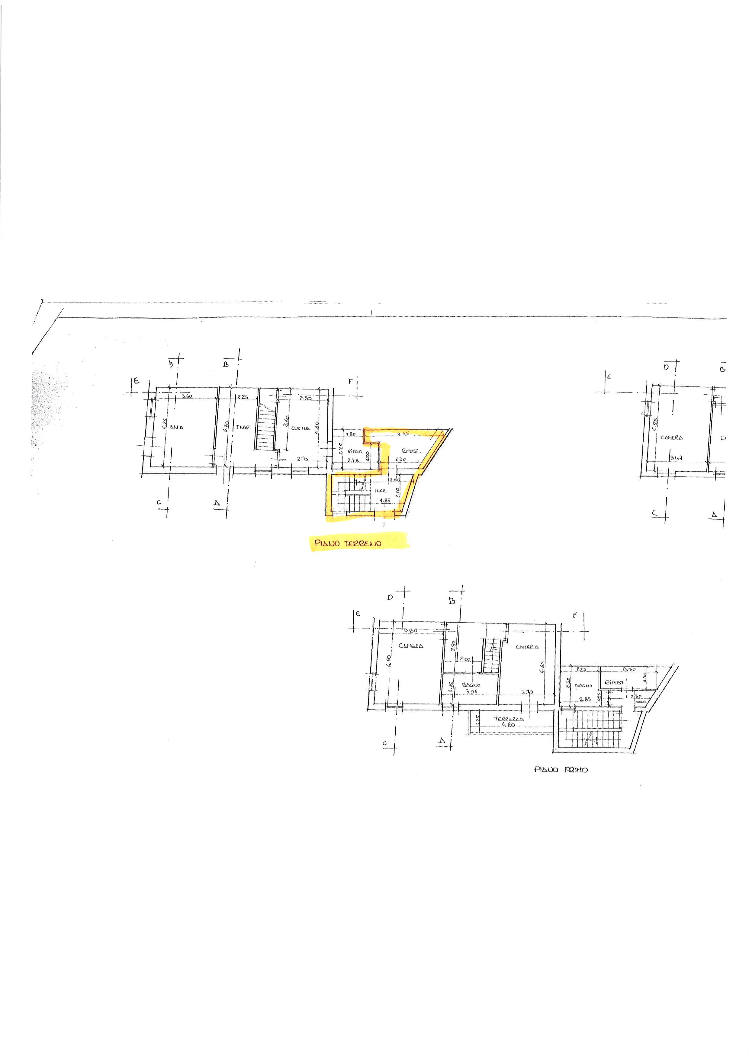 Planimetria 2/2 per rif. ap capa 140l