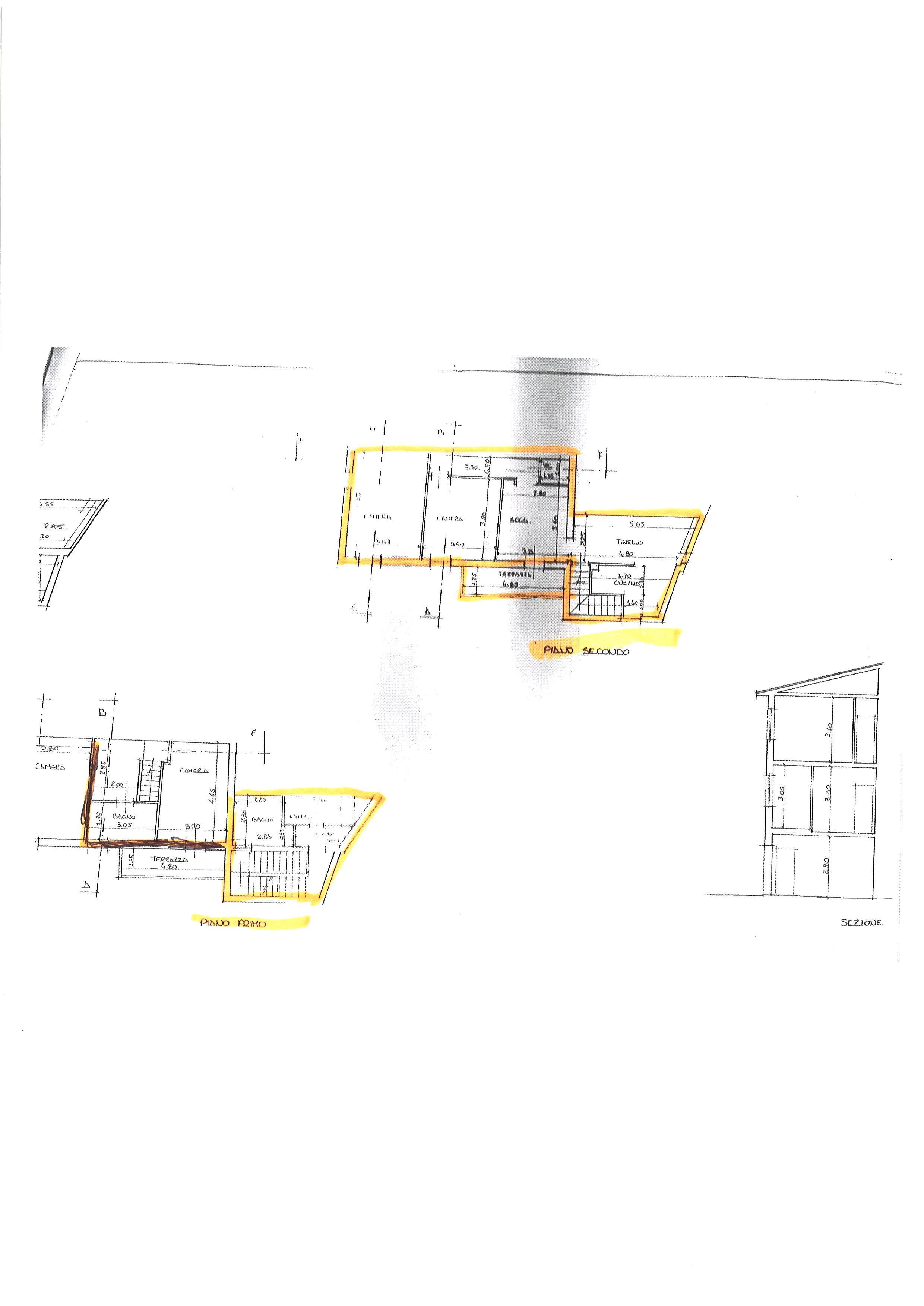 Planimetria 1/2 per rif. ap capa 140l