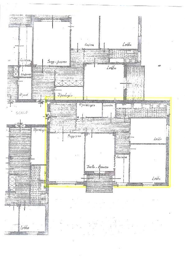 Planimetria 1/1 per rif. ap pisa 139