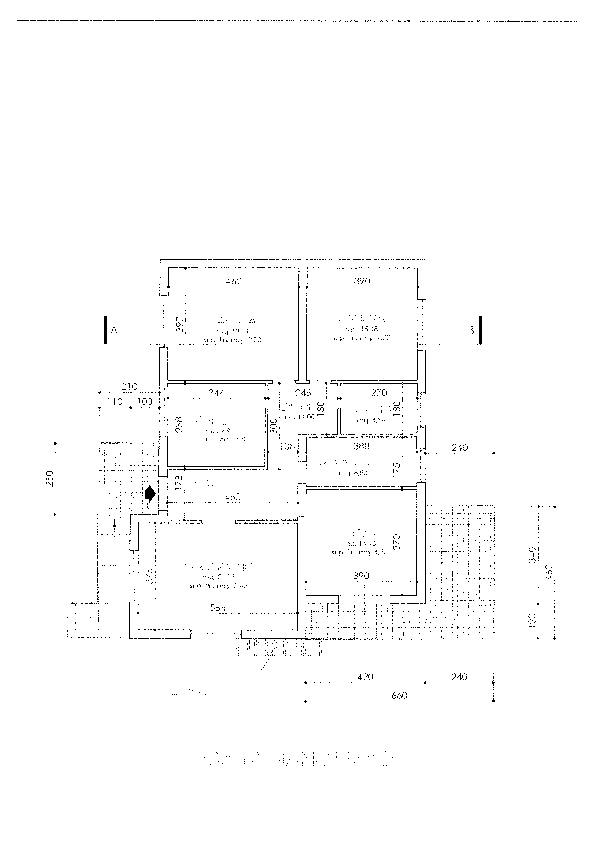 Planimetria 1/1 per rif. vbf marl 185