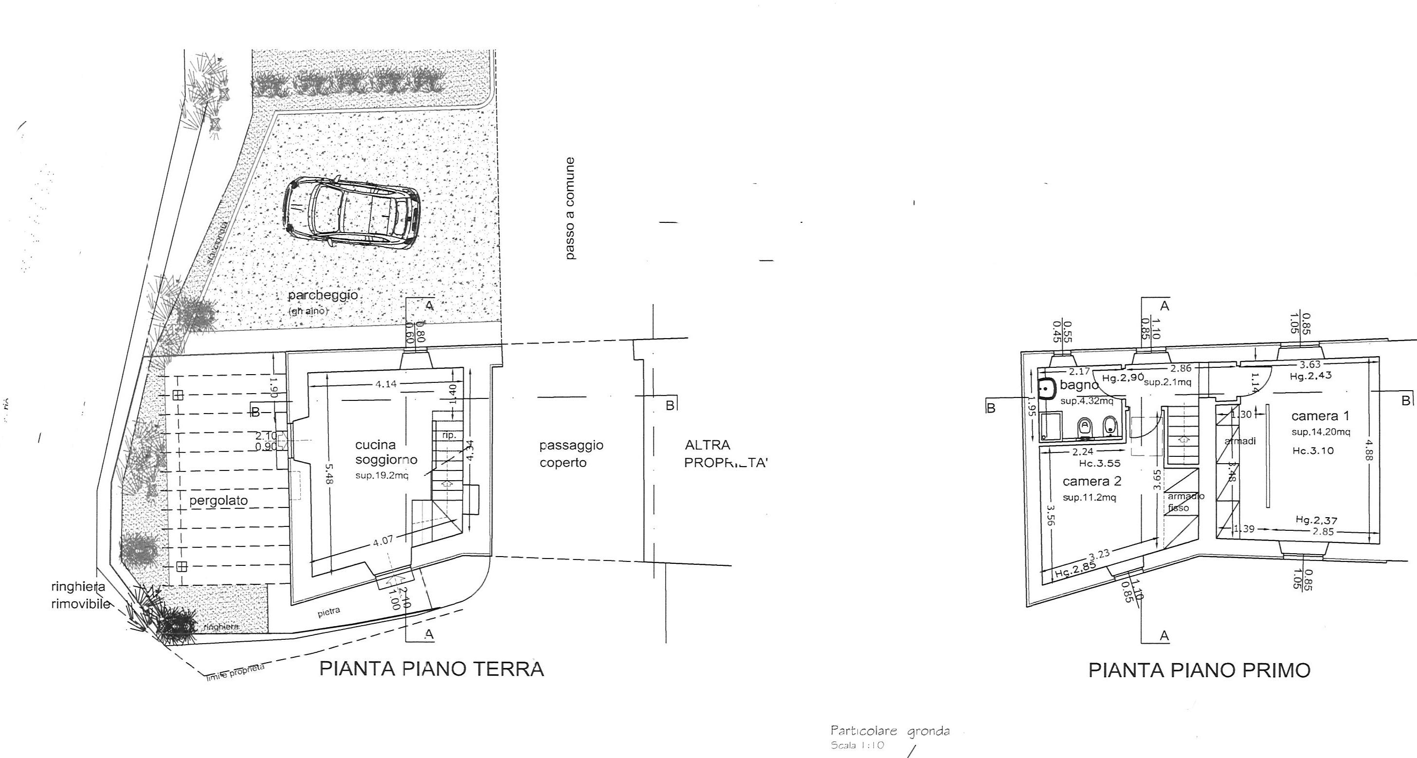 Planimetria 1/1 per rif. trf vorno 215