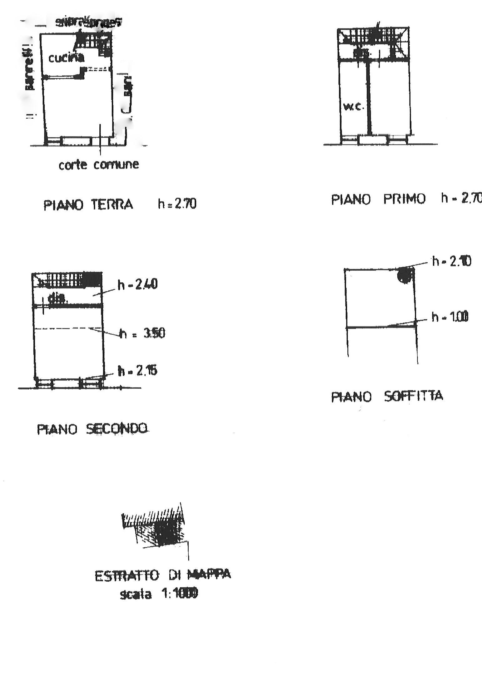 Planimetria 1/1 per rif. trc rughi 142
