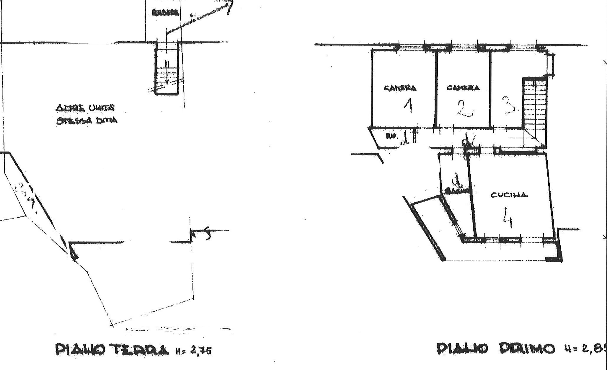 Planimetria 1/1 per rif. ap lun 95