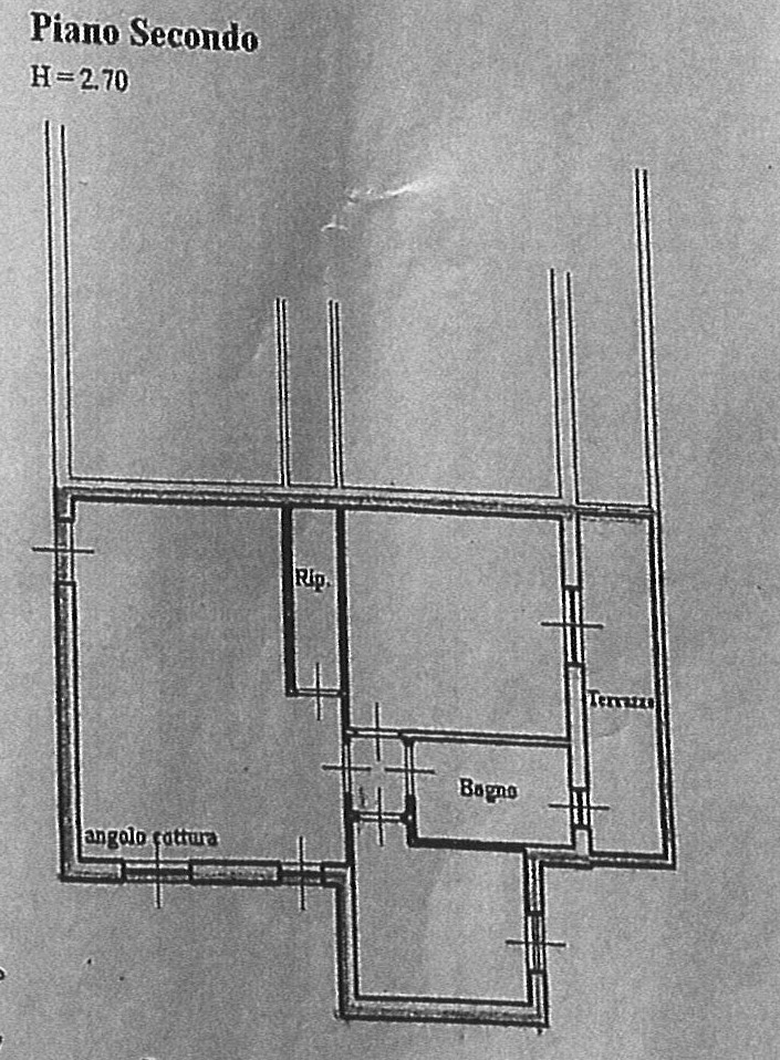 Planimetria 1/1 per rif. ap altop 80