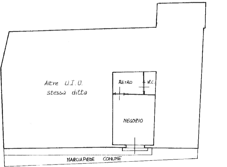 Planimetria 1/1 per rif. fond pont 500
